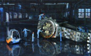 Réparation montre cassée abimée