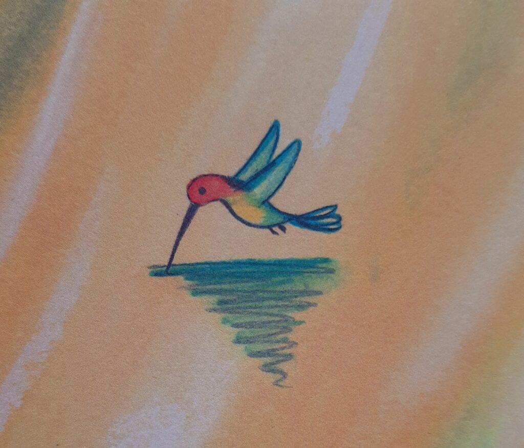 légende colibri faire sa part écologie
