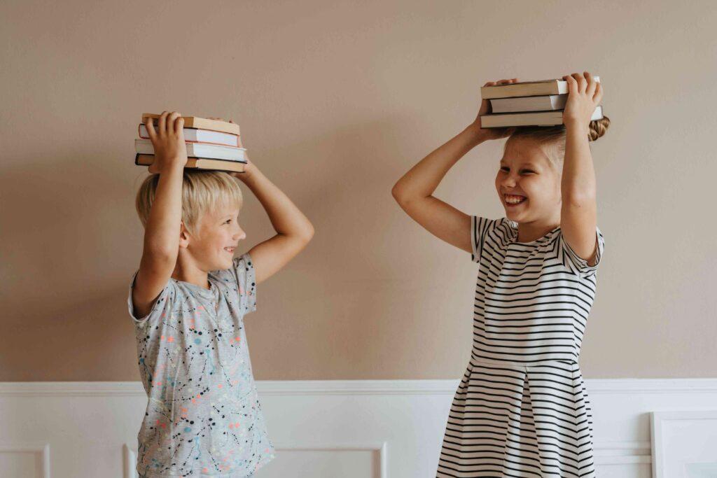 enfants livres joie cadeaux noël
