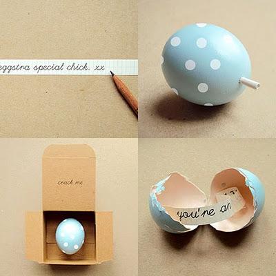 alternative papier cadeau coquille d'œuf
