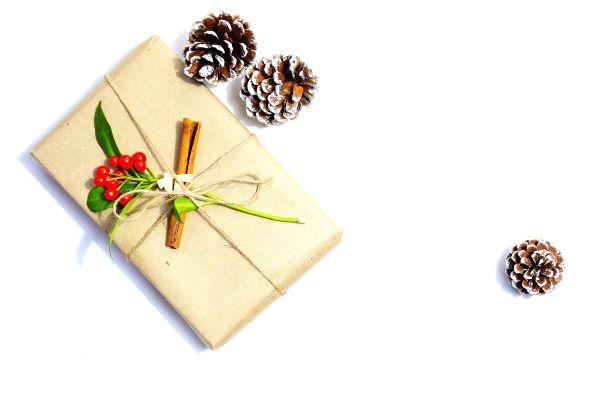 alternative papier cadeau kraft cannelle