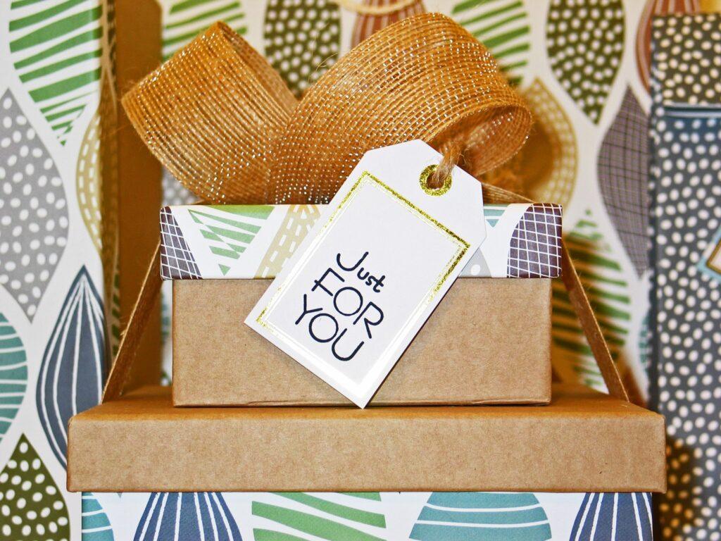 alternative papier cadeau boîte rangement