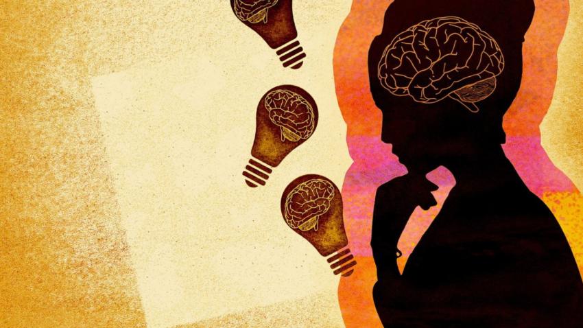 femme profil cerveau perfectionniste